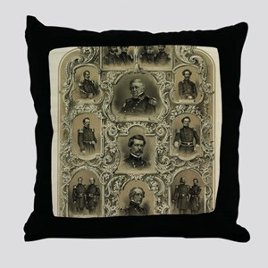 Our Generals Throw Pillow