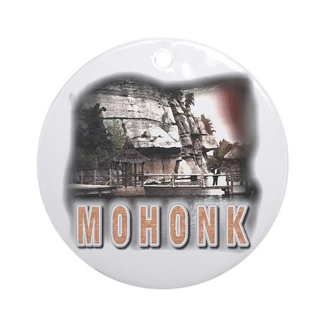Mohonk Ornament (Round)