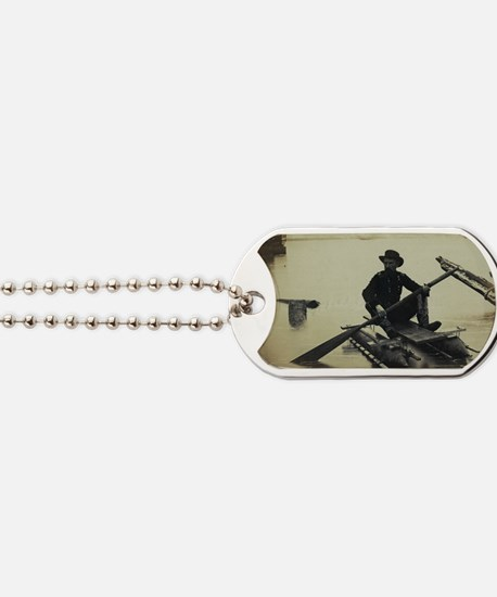 Pontoon Boat Dog Tags