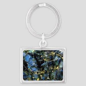 Glass Cutting Board Landscape Keychain
