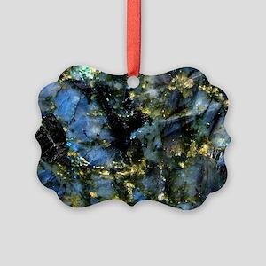 Glass Cutting Board Picture Ornament
