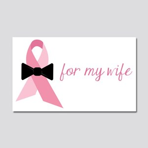 For My Wife Car Magnet 20 x 12