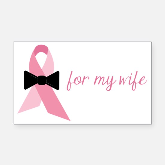For My Wife Rectangle Car Magnet
