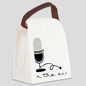 On The Air Canvas Lunch Bag