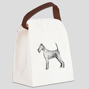 Irish_Terrier Canvas Lunch Bag