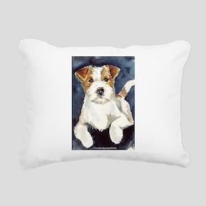 JRTwatercolor Rectangular Canvas Pillow