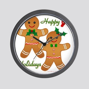Gingerbread Man - Boy Girl Wall Clock