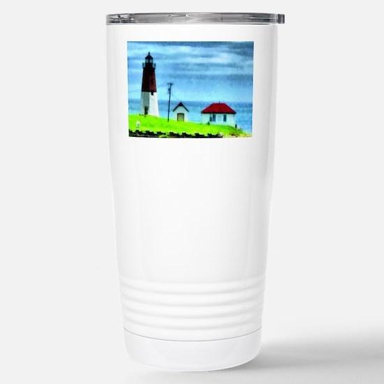 Point Judith Light Stainless Steel Travel Mug