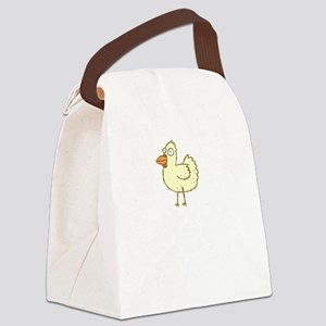 Chicken Motives Canvas Lunch Bag