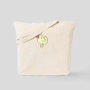 Chicken Motives Tote Bag