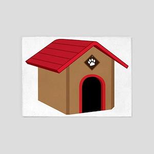 Dog House 5'x7'Area Rug