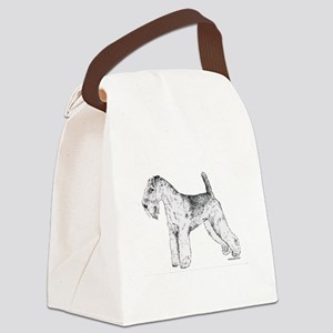Lake_Terrier Canvas Lunch Bag