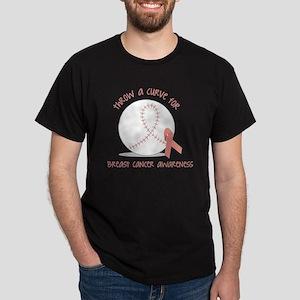 Throw a Curve Dark T-Shirt