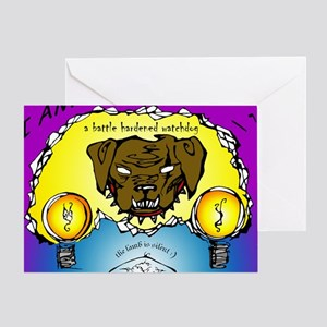 Watchdog Greeting Card