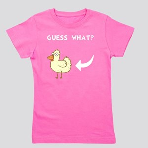 Chicken Butt Girl's Tee