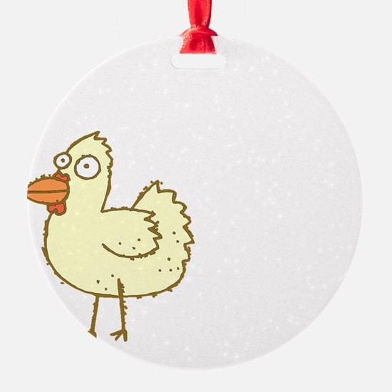 Chicken Butt Ornament