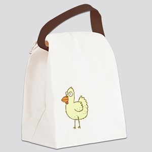 Chicken Butt Canvas Lunch Bag