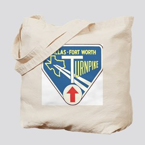 Dallas Fort Worth Turnpike Tote Bag