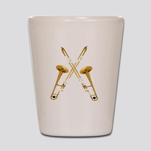 Trombones Kick Brass! Shot Glass