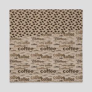 Coffee and Beans Queen Duvet