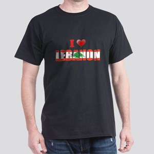 I love Lebanon Dark T-Shirt