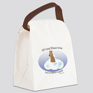 SCWTwrappedinGold Canvas Lunch Bag