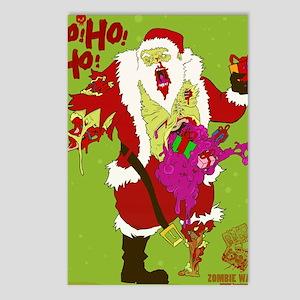 Zombie Santa 2 Postcards (Package of 8)