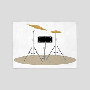 Drum Set 5'x7'Area Rug