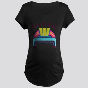 Rock & Roll Maternity Dark T-Shirt