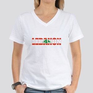 Lebanon Women's V-Neck T-Shirt
