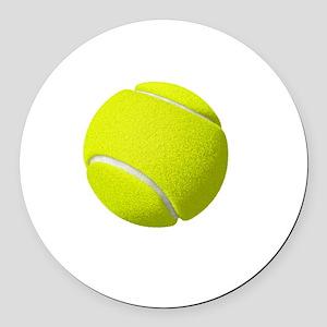 My Life Tennis Round Car Magnet