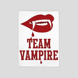 Team Vampire 5'x7'Area Rug