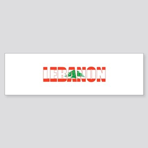 Lebanon Bumper Sticker