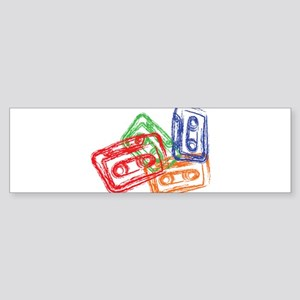 Mix tapes Bumper Sticker