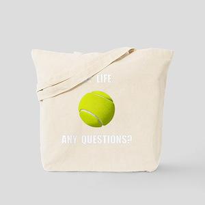 My Life Tennis Tote Bag