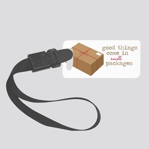 Small Packages Small Luggage Tag