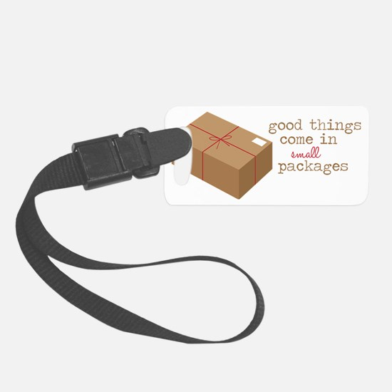 Small Packages Luggage Tag