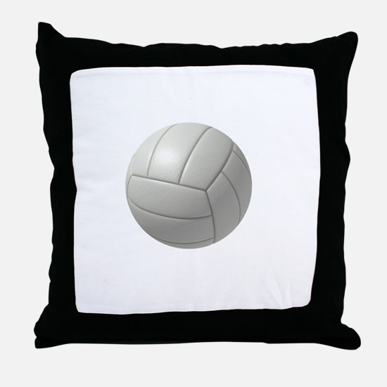 My Life Volleyball Throw Pillow