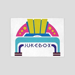 Jukebox 5'x7'Area Rug
