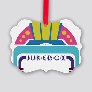 Jukebox Picture Ornament