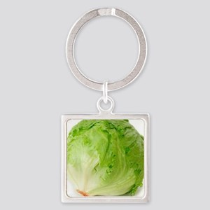 Iceberg lettuce Square Keychain