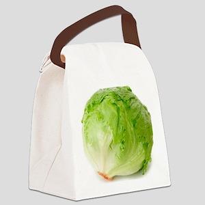 Iceberg lettuce Canvas Lunch Bag