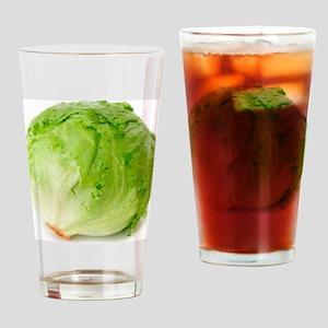 Iceberg lettuce Drinking Glass