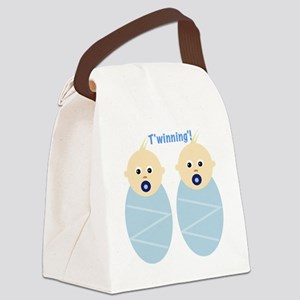 T'winning'! Canvas Lunch Bag