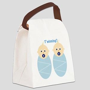 T'winning'! Canvas Lunch Bag
