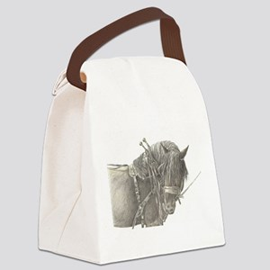 draft horse Canvas Lunch Bag