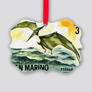 San Marino 1965 Pteranodon Postag Picture Ornament