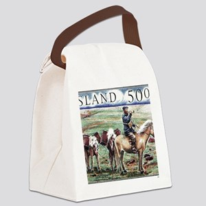 Iceland 1997 Overland Post Mailma Canvas Lunch Bag
