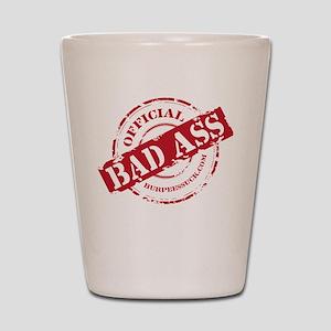 BAD ASS COACH - BLACK Shot Glass