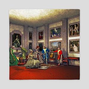 Your photos in a historical art gallery Queen Duve